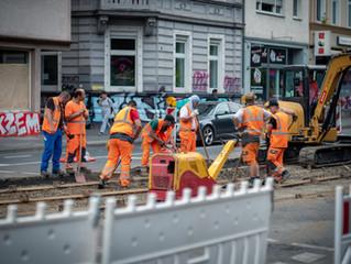 Europos saugaus eismo dieną – raginimai atsargiau elgtis remontuojamuose kelių ruožuose