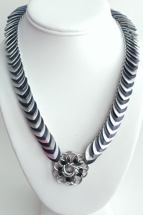 Helm Vortex and Scale necklace