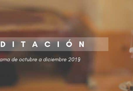 CALENDARIO DE MEDITACIÓN Otoño-Invierno