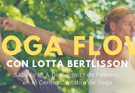 YOGA FLOW con LOTTA BERTLISSON