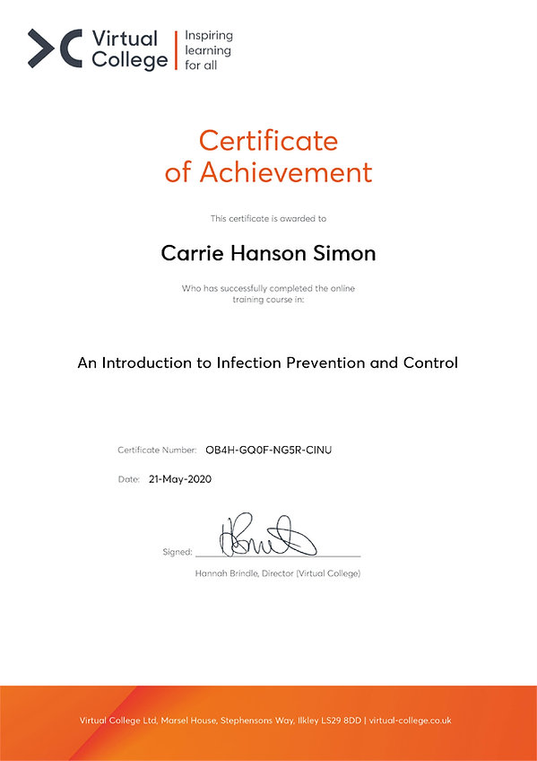 Carrie Hanson Simon - An Introduction to