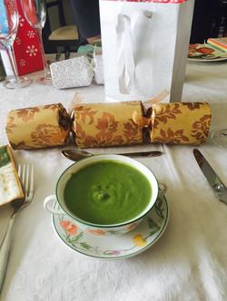 Pea soup starters for Christmas 2015