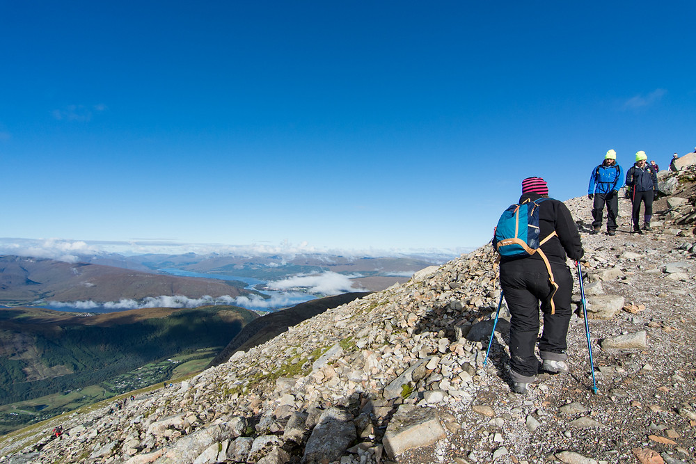 Ben Nevis view to Loch Eil