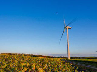 Landscape photography - return to the wind turbines