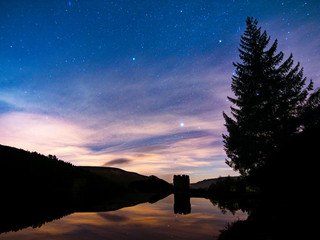 Nightscape photography in the Peak District