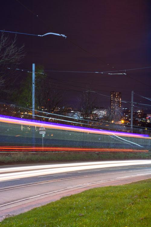 urban landscape nightscape photography sheffield