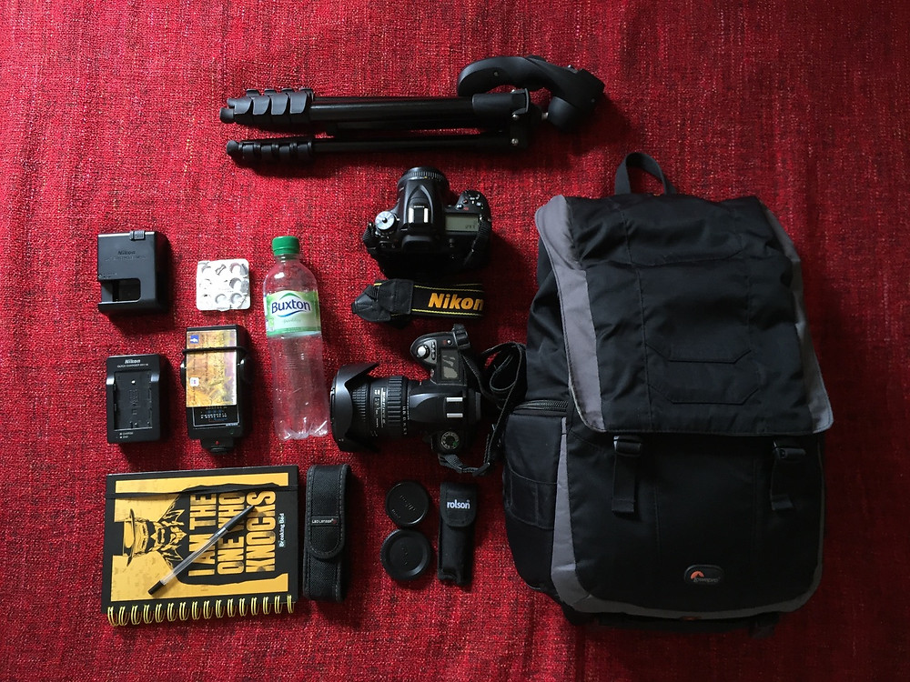 Wedding photographer whats in my bag
