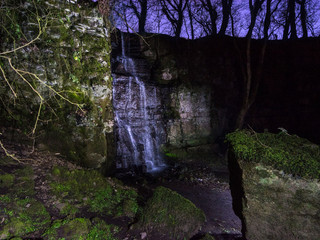 Nightscape photography - Shooting a waterfall