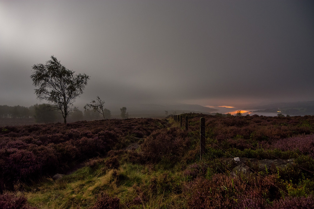 night photography derbyshire surprise view