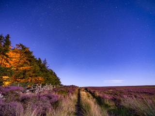 Astrophotography /  night time landscape photography - Guisborough, North York Moors