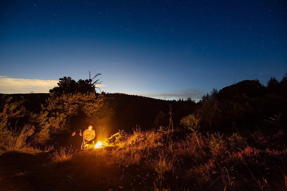 Wild camping astro photography North Yorkshire