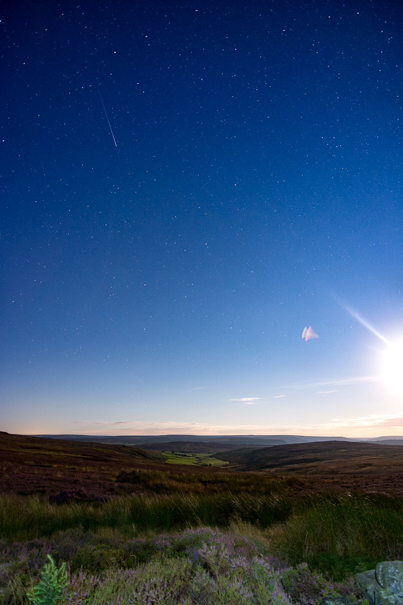 Guisborough woods astrophotography North York Moors Perseid