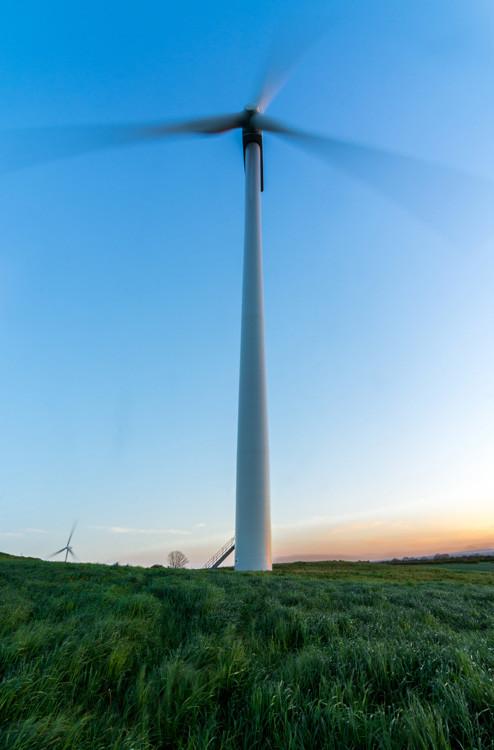 landscape photography sheffield wind turbine