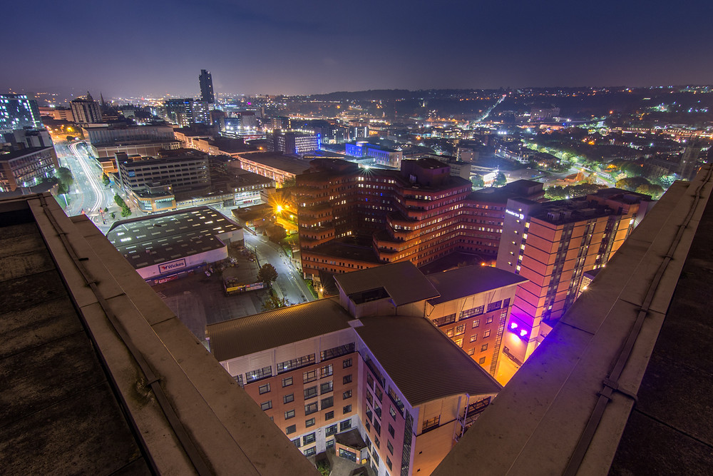 Rooftopping Velocity Tower Sheffield