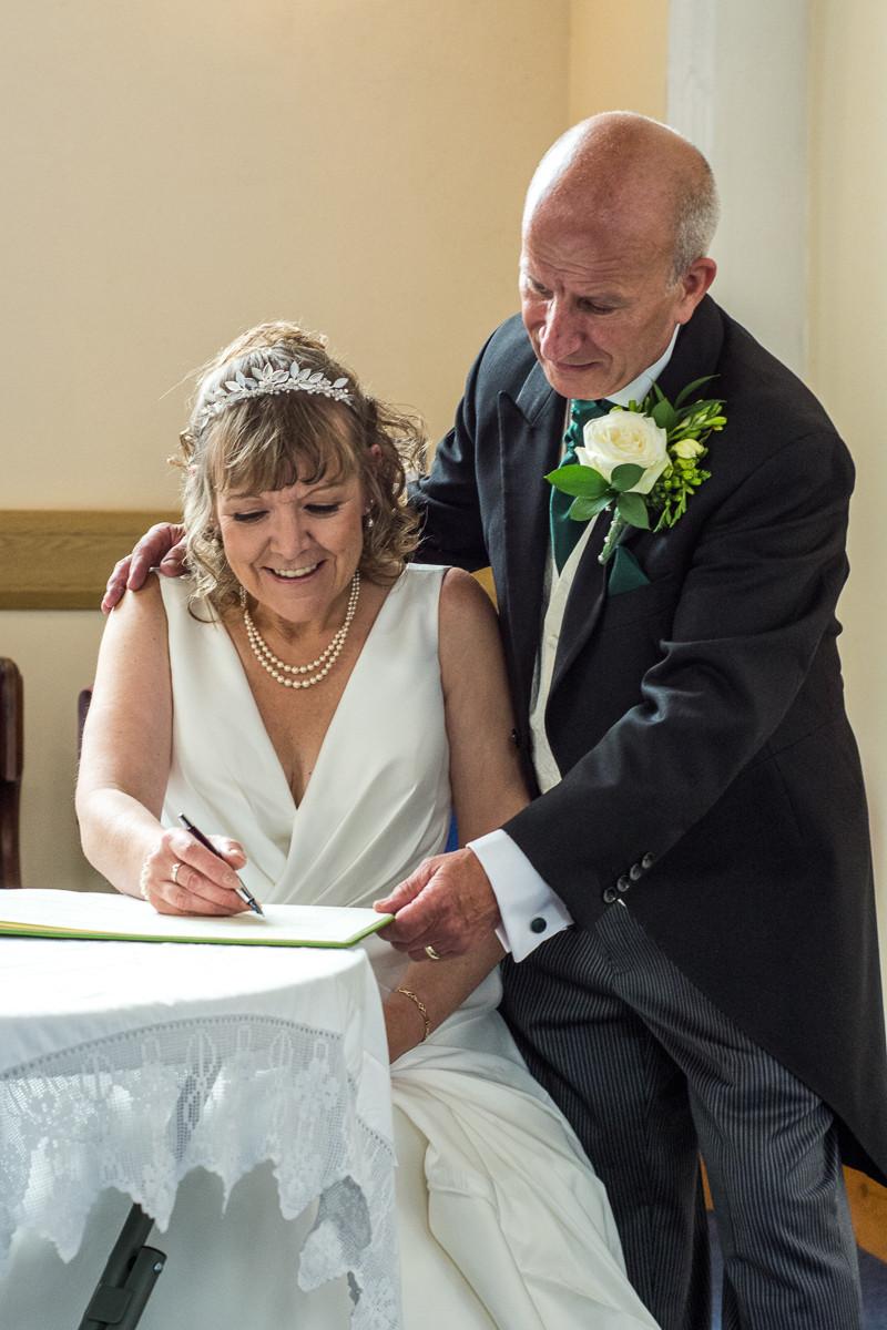 yorkshire church wedding photography