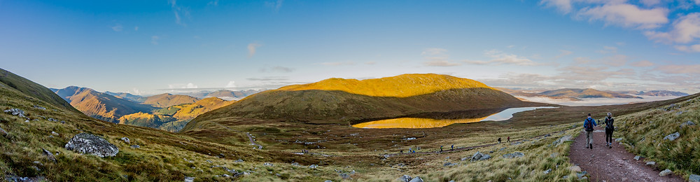 Lochan Meall an t-Suidhe panorama