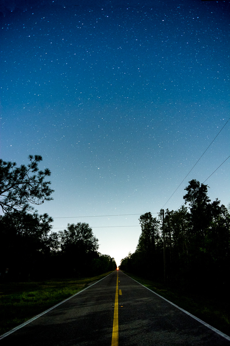 astrophotography starry night sweet hill road polk county