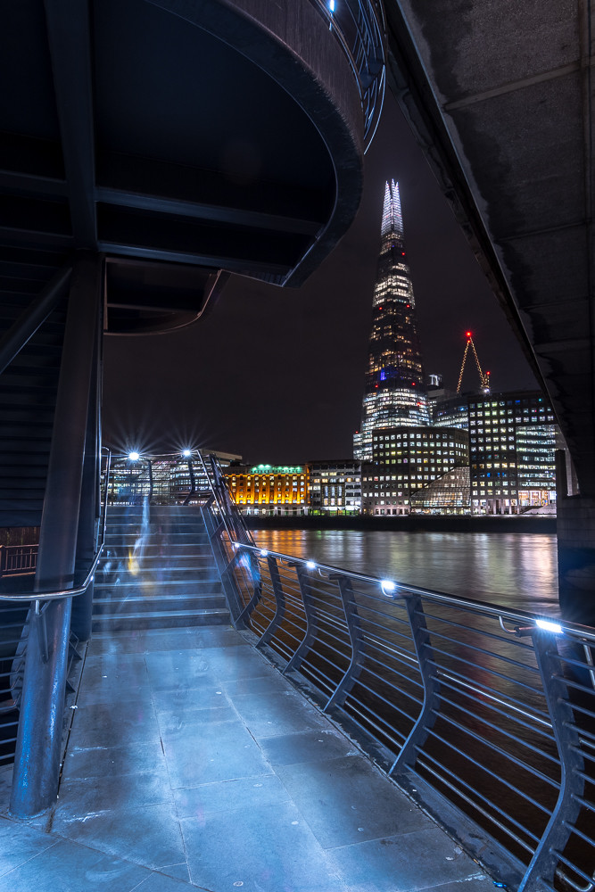 shard london bridge nightscape photography