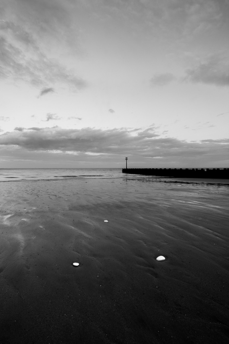 Long exposure photography at Bridlington