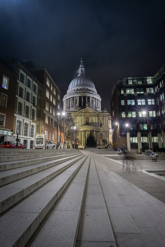 st pauls cathedral london nightscape photography