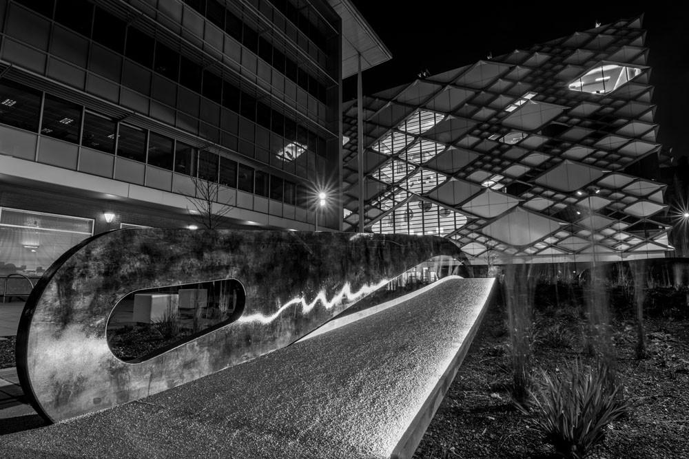Sheffield landscape nightscape photography diamond university