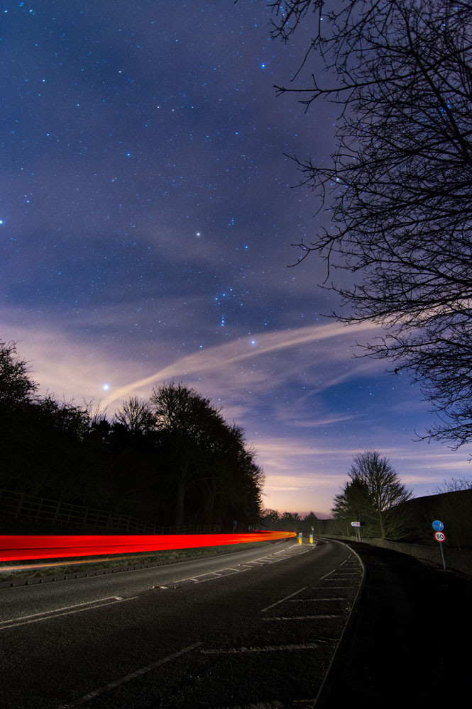 Long exposure photography in the Peak District