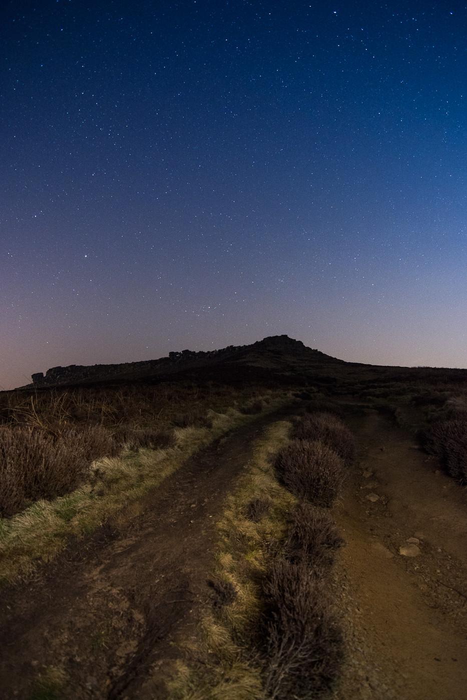 astro landscape, nightscape, astrophotography, carl wark, higger tor