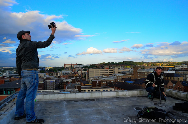 Sheffield rooftopping