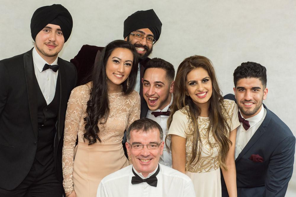 Sheffield University dental school graduation photography