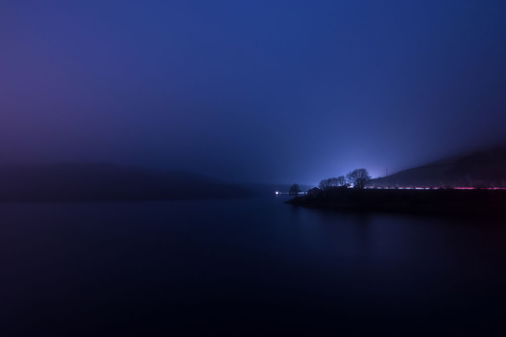 Nightscape at Ladybower
