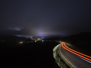 New YouTube blog: Landscape photography at night. In a storm.
