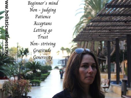De 9 attityder av mindfulness