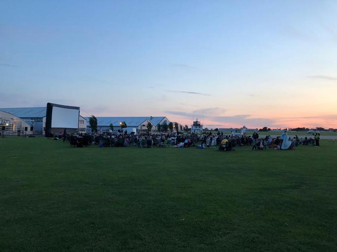 Outdoor Cinema Top Gun