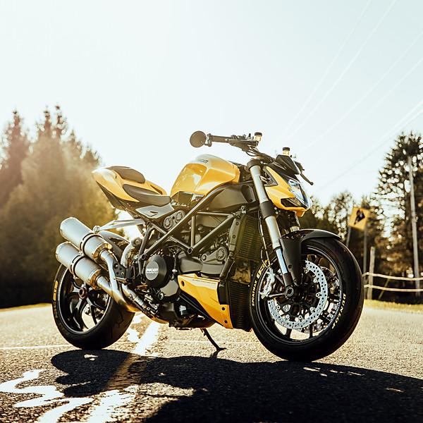 Hugo's Ducati