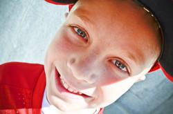 Young Boy Portrait Close up