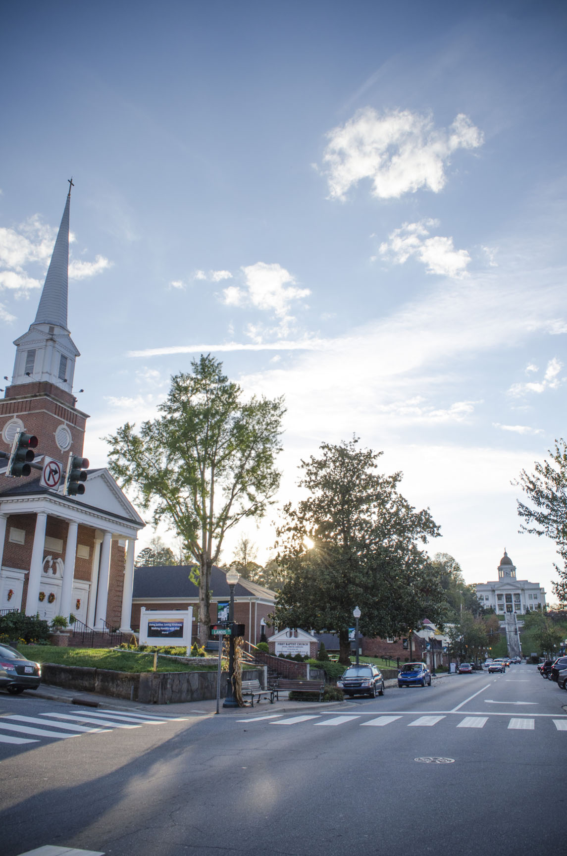 Sylva, NC Main Street