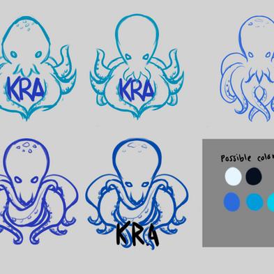 Early logo drafts (Version 2)