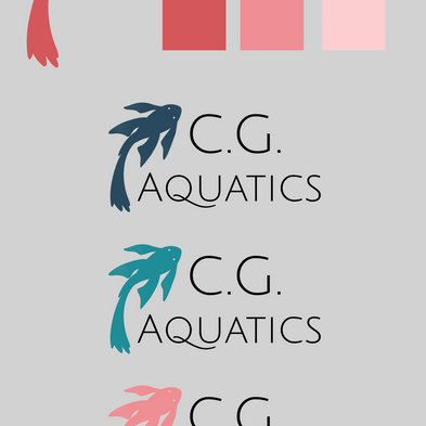 Early logo colors (Version 1)