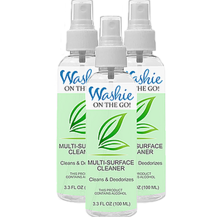 Washie ON THE GO Multi-Surface Cleaner -3 pack