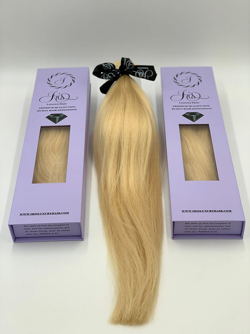 RUSSIAN TAPE-IN Hair Extensions - #613 Blonde - Natural Wave