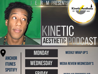 Catch The Kinetic Aesthetic Podcast