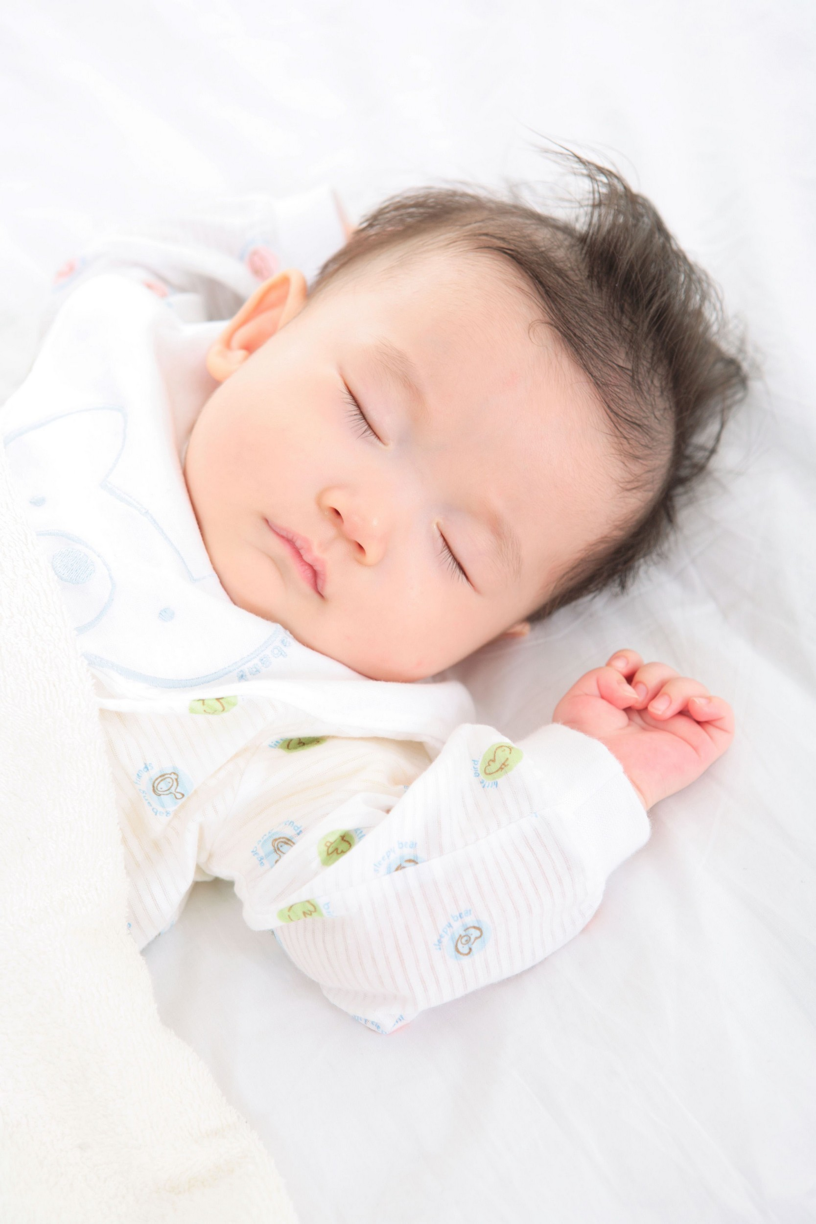Asleep when you wish they were awake?