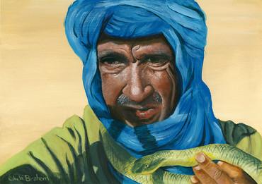 Moroccan Snake Man