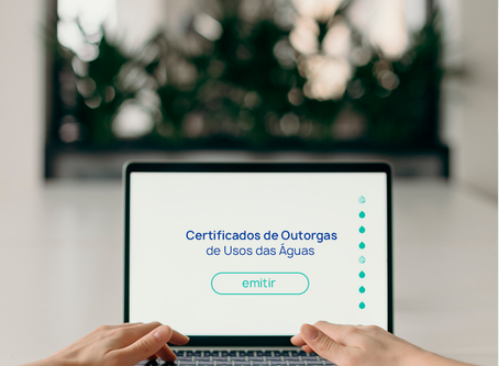 Certificados de Outorgas de Usos das Águas.