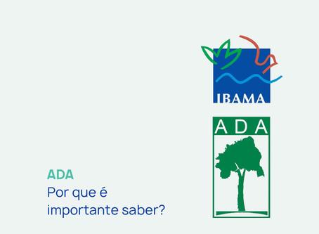 ADA - Porque é importante saber.