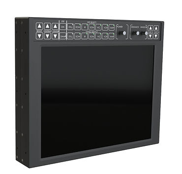 RDDS Avionics Displays Video Management Aviation Mission Control Command Mission Software LCD1509-100 15'' LCD Monitor