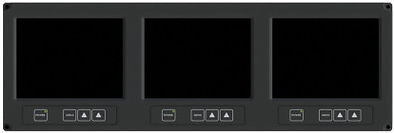 """RDDS Avionics Displays Video Management Aviation Mission Control Command Mission Software LCD0603 6.4"""" 3 in 1 Display"""