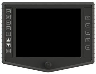 RDDS Avionics Displays Video Management Aviation Mission Control Command Mission Software LCD0811 Display