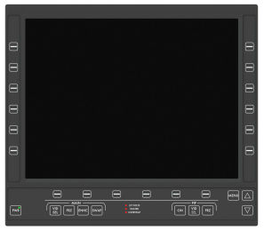 RDDS Avionics Displays Video Management Aviation Mission Control Command Mission Software LCD1506