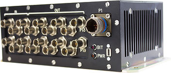 RDDS Avionics Displays Video Management Aviation Mission Control Command Mission Software IU1800-400 Component Video Splitter